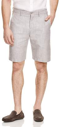 Bloomingdale's The Men's Store at Linen Cotton Shorts - 100% Exclusive