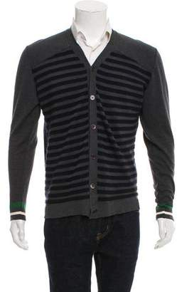Marni Paneled Button-Up Cardigan