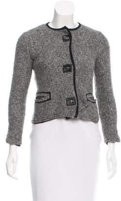 Isabel Marant Tweed Collarless Jacket