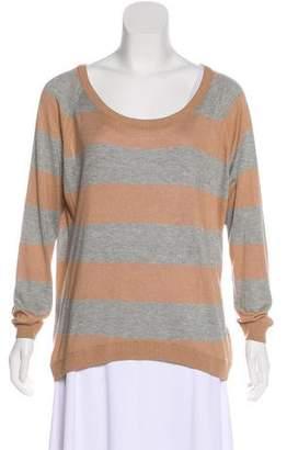 Haute Hippie Long Sleeve Striped Sweater