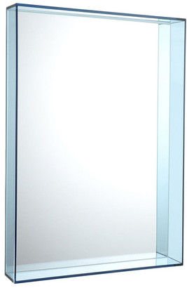 Kartell Only Me Mirror - Pale Blue - 50x70cm