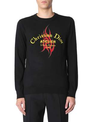 Christian Dior Atelier Tribal Embroidered Jersey