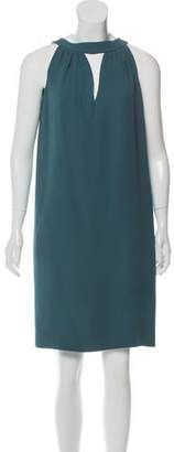 Agnona Silk Knee-Length Dress
