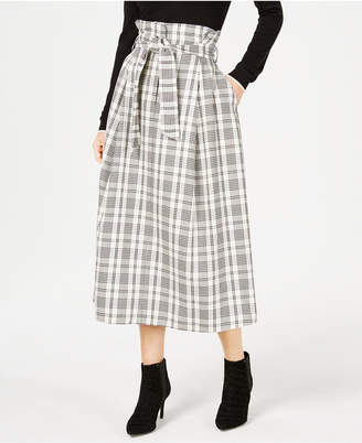 Max Mara Gommoso Plaid Skirt
