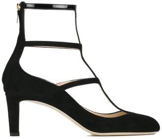 Jimmy Choo Dancy 65 caged pumps