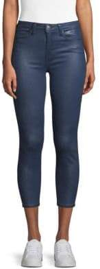 L'Agence Cropped Skinny Jeans