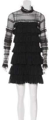 Isabel Marant Ruffled Lace Dress