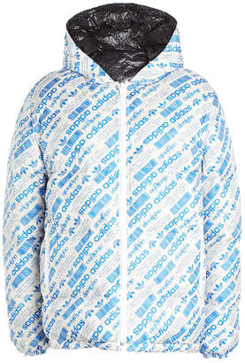 adidas by Alexander Wang Double-Sided Down Quilted Puffer Jacket
