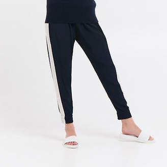 NEW Spliced Jogger Pants Women's by Le Stripe Store
