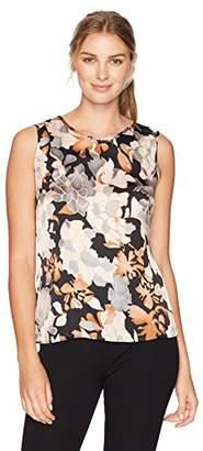 Kasper Women's Jewel Neck Floral Cami