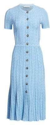 Altuzarra Short-Sleeve Knit Dress