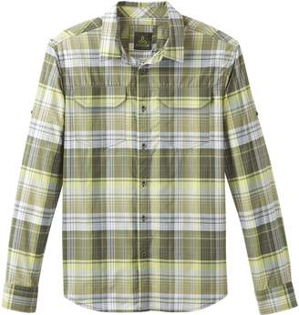 Prana Citadel Plaid Long-Sleeve Shirt - Men's