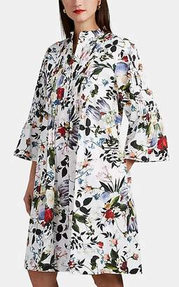 Erdem Women's Raegan Floral Cotton Shirtdress - White Multi