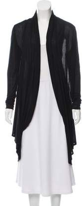 Alice + Olivia Button Accented Long Sleeve Cardigan