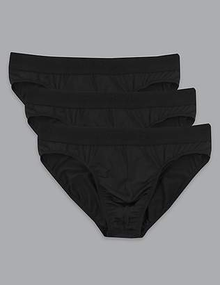 3 Pack Microskin Briefs