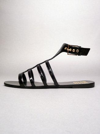 Givenchy Gladiator Sandal - Black