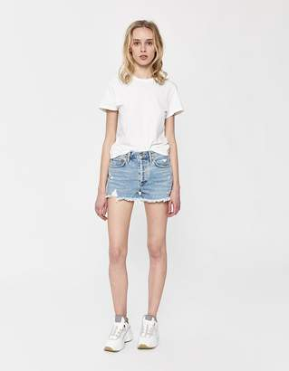 Agolde Parker Vintage Loose Cut-Off Jean Short in Swapmeet