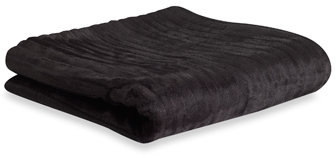 Safari Fur Throw Blanket - Black Panther