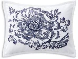Lauren Ralph Lauren Isadora Embroidered Cotton Throw Pillow