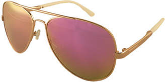 EDIT BY JEANNE BEKER Metal Frame Aviator
