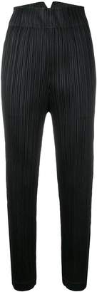 Pleats Please Issey Miyake high waisted trousers