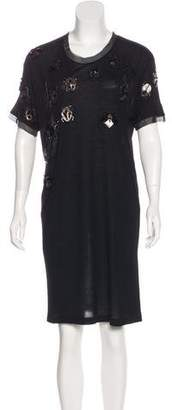 Lanvin Beetle Embellished Dress