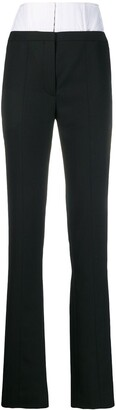 Thierry Mugler high waisted corset trousers