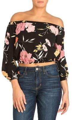 GUESS Off Shoulder Nidia Top
