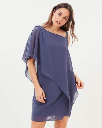 Nancie Overlay Chiffon Dress