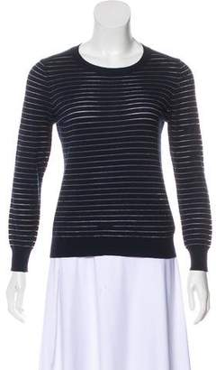 J Brand Striped Long Sleeve Top