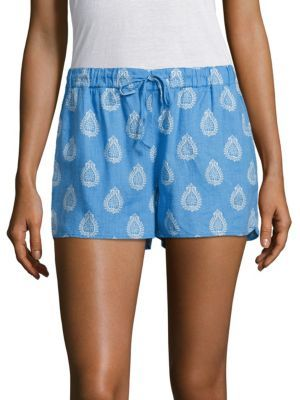 Vineyard Vines Block Printed Floral Shorts $78 thestylecure.com
