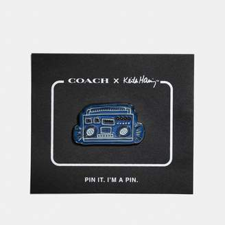 Coach X Keith Haring Pin