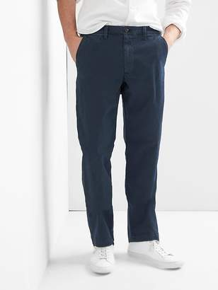 Gap Vintage Wash Khakis in Relaxed Fit with GapFlex