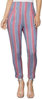 BCBGMAXAZRIA Striped Slim Ankle Pant