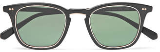 Mr Leight Getty S Square-Frame Acetate Sunglasses