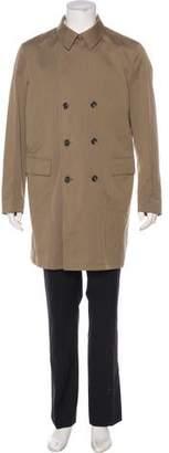 Loro Piana Double-Breasted Overcoat