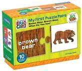 Mudpuppy マッドパピー) くまさん くまさん なにみてるの? Eric Carle エリックカール 知育玩具 ペアパズル えいご学習 子ども英語 10種類 合計20枚 My First Puzzle Pairs