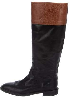 Fratelli Rossetti Leather Knee-High Boots