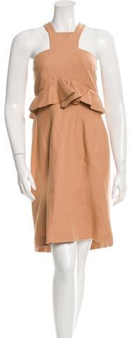 Saint LaurentYves Saint Laurent Sleeveless A-Line Dress