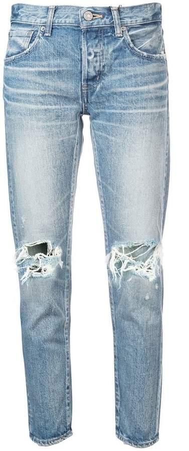 Vintage ripped knee jeans
