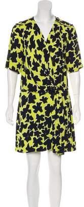 Diane von Furstenberg Dora Lily Silk Dress