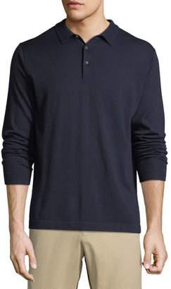 Peter Millar Men's Crown Soft Long-Sleeve Polo Shirt