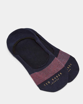 Ted Baker COURTGA Geometric detail cotton sneaker liners
