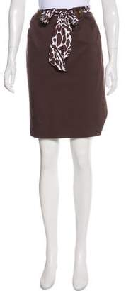 Milly Knee-Length Pencil Skirt
