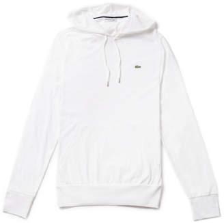 Lacoste Men's Hooded Cotton Jersey Hoodie