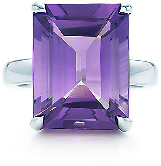 Tiffany Sparklers:Amethyst Cocktail Ring