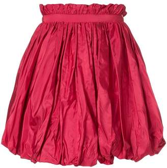 Alexander McQueen pleated bubble mini skirt