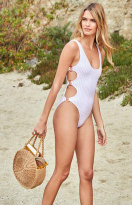 La Hearts Ring Side One Piece Swimsuit