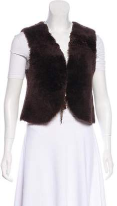 Golden Goose Lightweight Shearling Vest