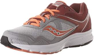 Saucony Cohesion 10 Running Shoes, Grey/red, 9.5 M M US Adult